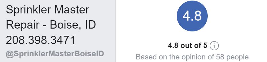 Facebook Positive Reviews
